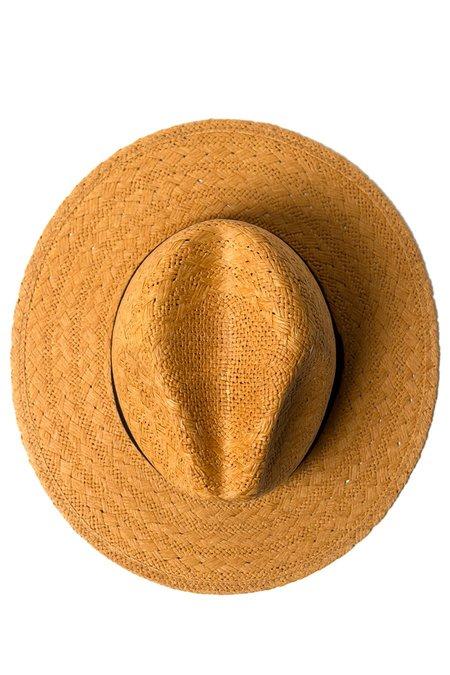 Yellow108 Stevie Hat - Caramel Straw