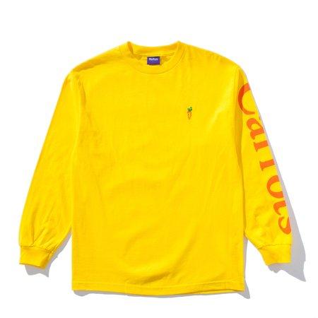 Carrots Logo Longsleeve Tee - Yellow