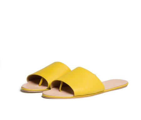 The Palatines Shoes Caelum Slide Sandal - Solar