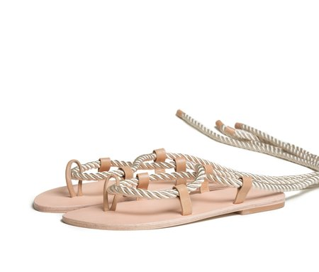 The Palatines Shoes Helica Sandal - Champagne