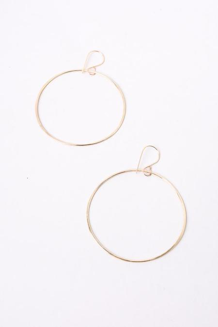 S Tector Metals Hoop Bangle - Gold