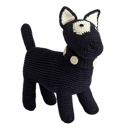KIDS Anne Claire Petit Terrier Dog Toy - Navy