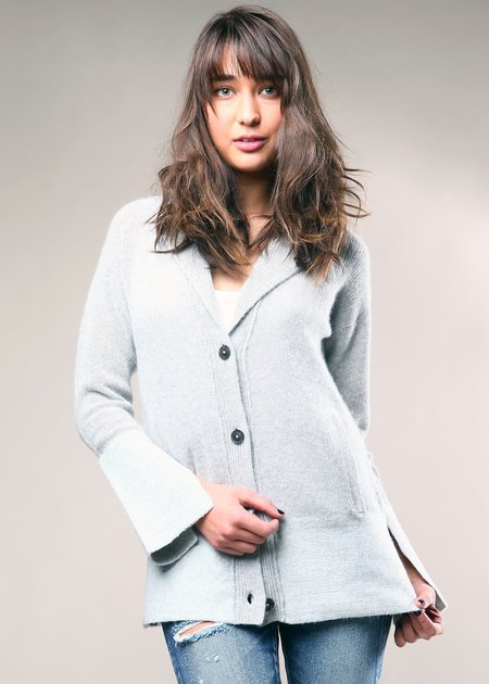 Brochu Walker The Falke Cardigan - Heather Grey