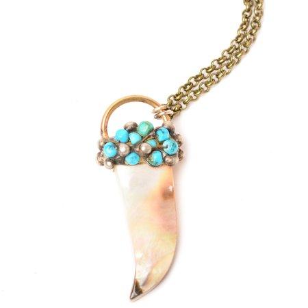 Mikal Winn Shell Dagger Necklace