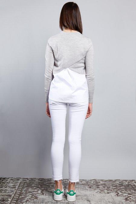 Veronica Beard Alma Sweater - Heather Grey