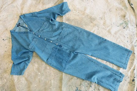 Ilana Kohn Tuck Coverall - Denim