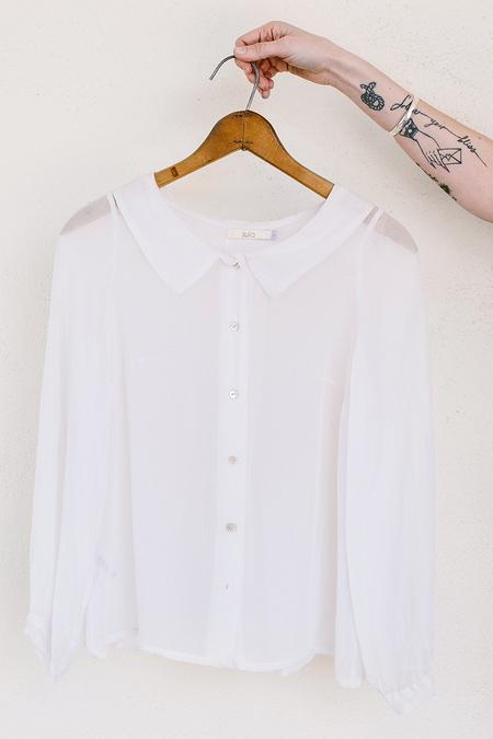 Sula Collared Blouse - Off-White