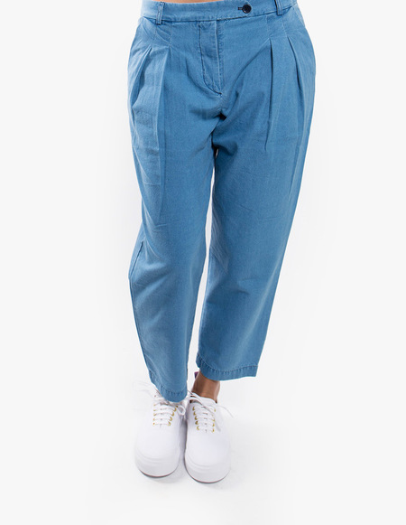 You Must Create Annie Trouser - Indigo Bleach