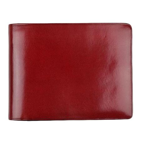 Il Bussetto Bi-fold Wallet - Tibetan Red