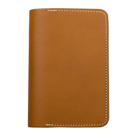 Unisex Laperruque Passport Cover - Gold Baranil