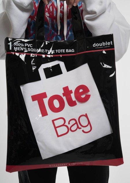 Doublet Deadstock Tote Bag - White