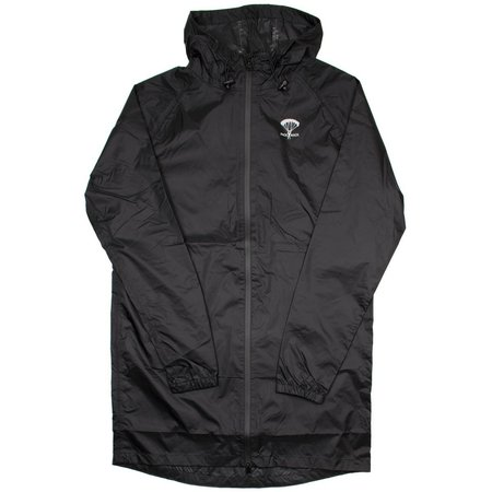 Packmack #300 Parka Full Zip Raincoat - Black