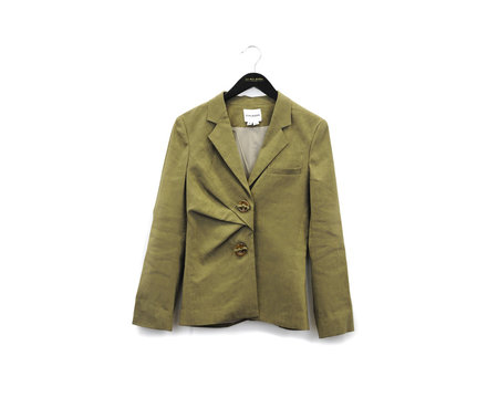Colovos Drape Jacket  - Tan
