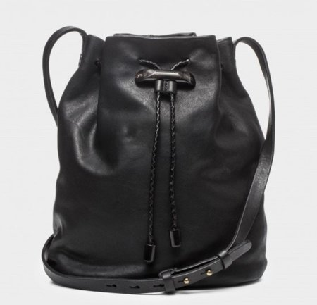 49 Square Miles Manzanita Leather Crossbody Bag - Black