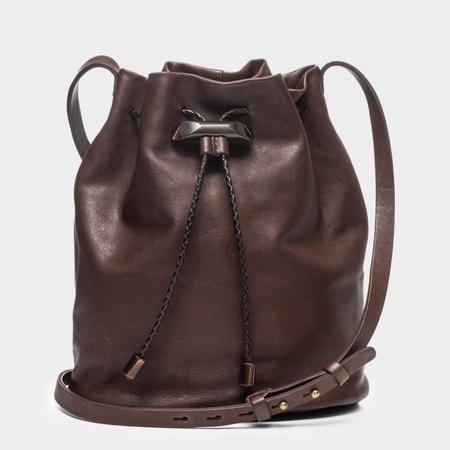 49 Square Miles Manzanita Leather Crossbody Bucket Bag - Brown