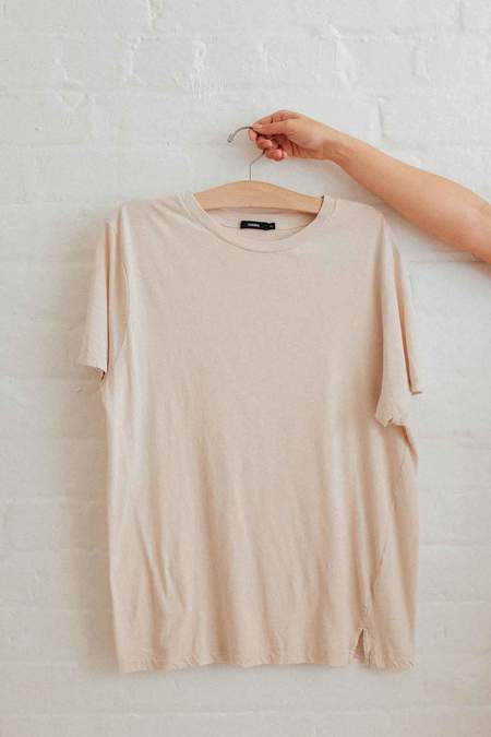 Bassike Classic Vintage T Shirt - Clay