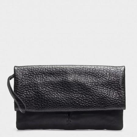 49 Square Miles Roan Folded Pebble Clutch - Black