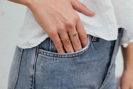 Natalie Martin Fine Cuff Ring - Gold