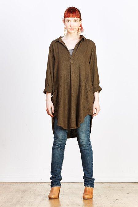 CP Shades Textured Woven Linen Teton Tunic - Mink