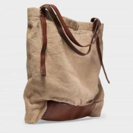 49 Square Miles Washed Linen Tote Bag - Natural