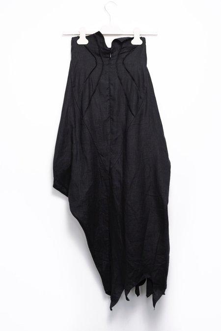 Aganovich Asymmetrical Skirt - Black