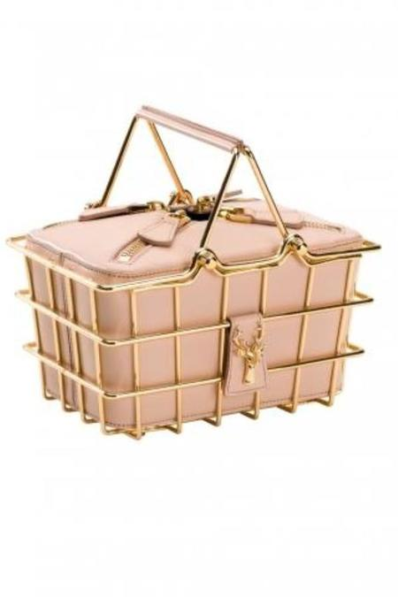 Savas Caroline Mini Basket Bag