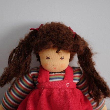 Kids Shop Merci Milo Nanchen Brown Hair Baby Girl Doll