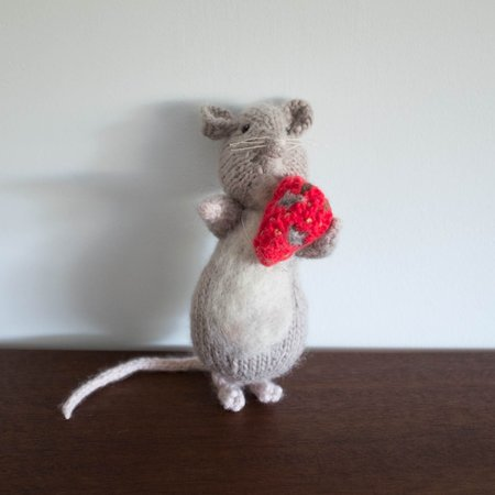 Kids Shop Merci Milo One of a Kind Mouse with Strawberry Doll