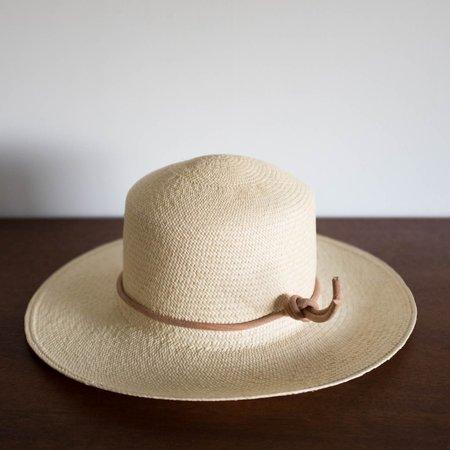 Kids Brookes Boswell Panama Straw Hat