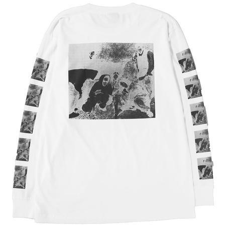 Ignored Prayers Hassan Rahim Ruckus Crew Long Sleeve T-shirt - White