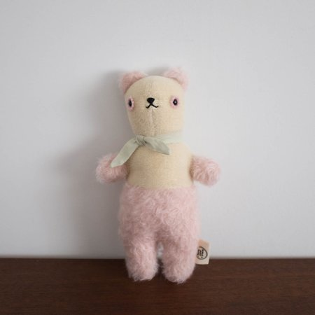 Kids Polka Dot Club Pink Small Bear
