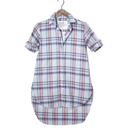Frank & Eileen Grayson Shirt - Light Blue Plaid