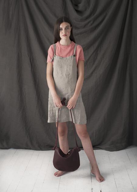 Erin Templeton Linen Overall Dress