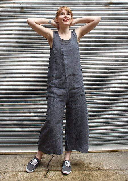 Ilana Kohn Milo Jumpsuit - Grey Linen