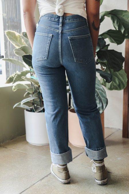 Unisex I And Me Japanese Selvedge Slim Leg - Vintage Wash