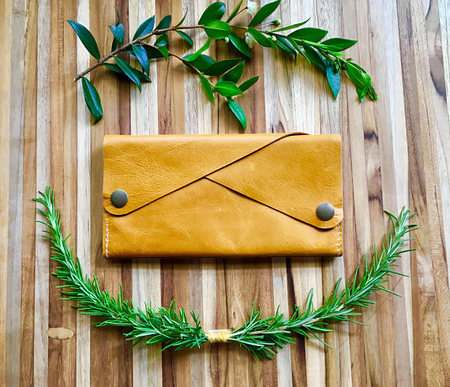 Robbie Moto The Dolly Wallet - Butternut Yellow