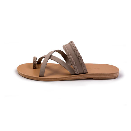 Valia Gabriel Vanilla Rum Sandals - Grey