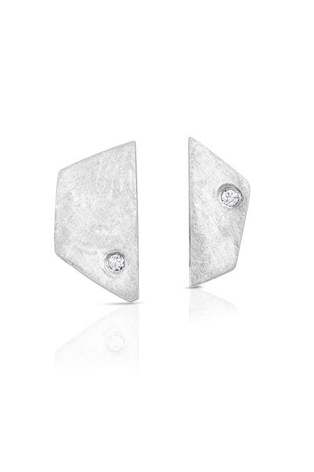Enji Silver Paloma Earrings - Silver