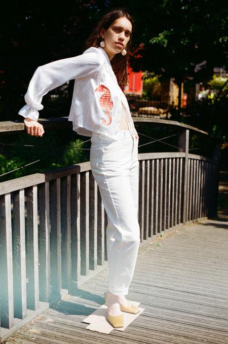 LF Markey Johnny Elasticated Jeans - Ivory