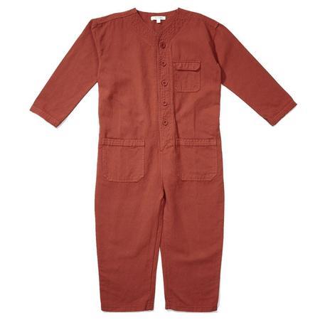 Kid's Caramel Soko Jumpsuit - Cinnamon