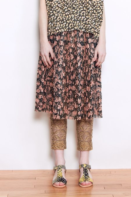 A Détacher Serafina Skirt - Runny Mascara Print Lace