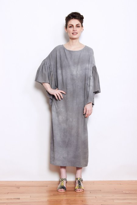 Kate Towers Oyster Dress - Dark Grey