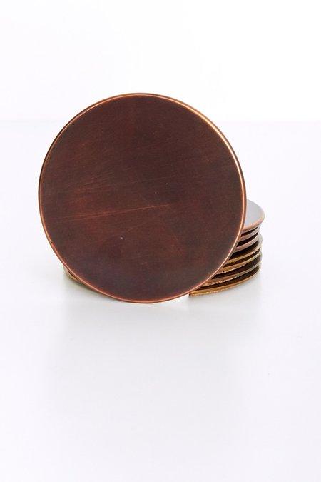Sir/Madam Set of 4 Coasters - Copper