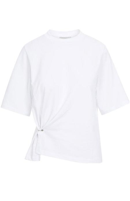 3.1 Phillip Lim Pierced Side Short Sleeve Tee - White