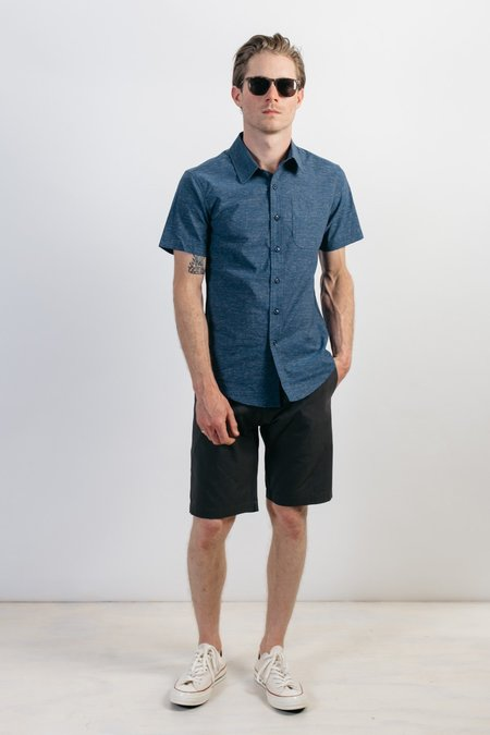 Bridge & Burn Harbor SHIRT - Navy Slub