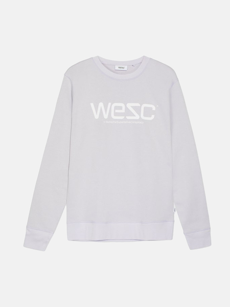 Unisex WeSC Sweatshirt - Light Lilac