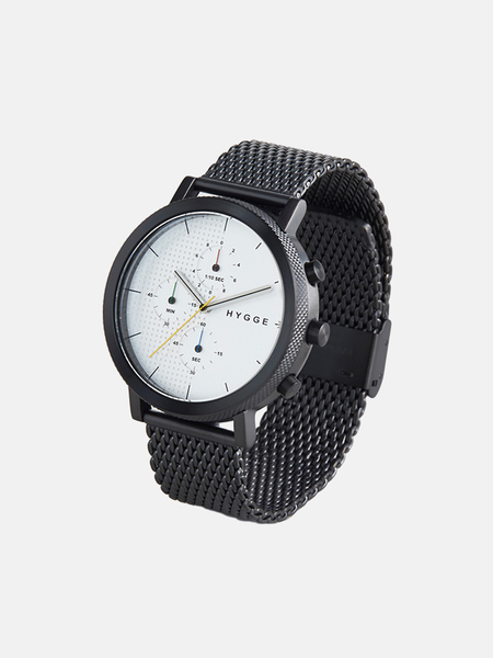 Hygge 2204 SERIES MSM2204BC watch - black/silver