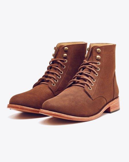 Nisolo Lockwood Trench Boot Oak