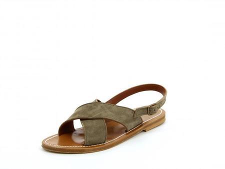 K JACQUES ST TROPEZ Osorno - Suede Fango Leather