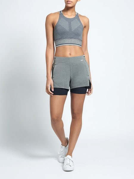 LNDR Run Double Shorts - GREY MARL